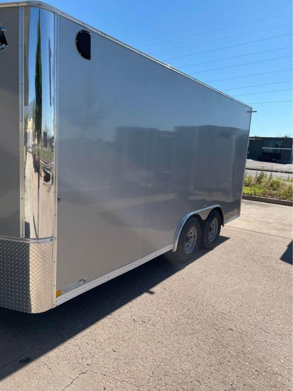 2022 R and M Manufacturing 8.5x16+v-nose (9990 GVWR) Enclosed Cargo Trailer-CO Springs