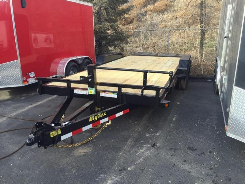 (PENDING) 2020 Big Tex 14ET-18' 14K Equipment Trailer w/Mega Ramps-Wheat Ridge
