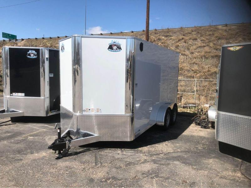"2022 R and M Manufacturing 7x14+v-nose (84"") Enclosed Cargo Trailer-Wheat Ridge"
