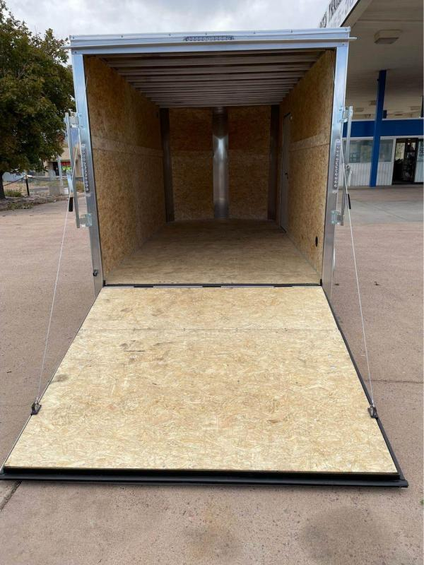 (PENDING)2022 R and M Manufacturing 7x12+v-nose (TAC) Enclosed Cargo Trailer-CO Springs