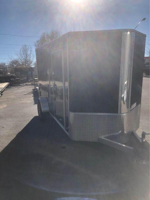 2021 R&M 6x12 v-nose Enclosed Cargo Trailer-Wheat Ridge