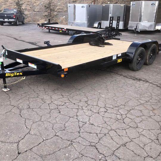 2021 Big Tex Trailers New 70CH-18 Car / Racing Trailer-Wheat Ridge