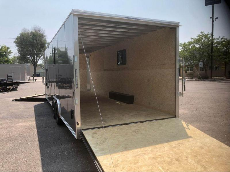 2022 R and M Manufacturing 8.5x24+5 v-nose (TAC) Enclosed Cargo Trailer-Wheat Ridge