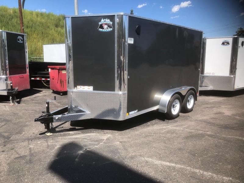 2020 R&M 7x12 v-nose (TAC) Enclosed Cargo Trailer-PENDING