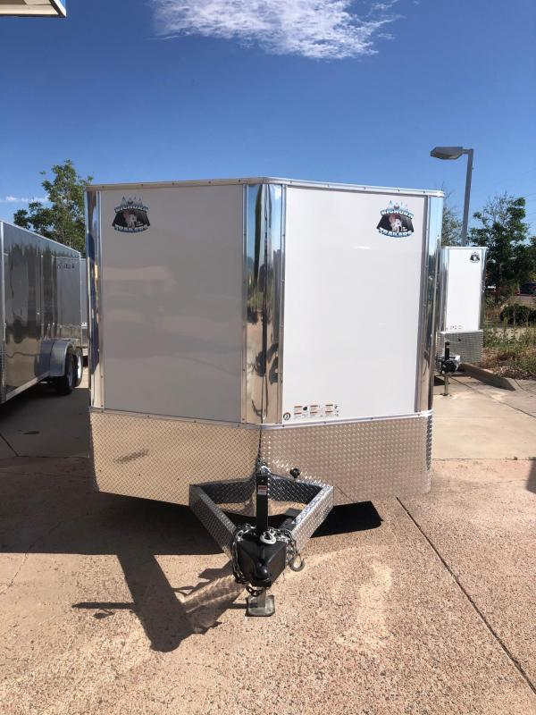 2021 R&M 8.5x20 v-nose (TAC) Enclosed Cargo Trailer-CO Springs