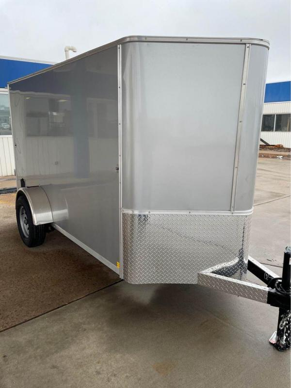 2022 R and M Manufacturing 5X10+V-NOSE Enclosed Cargo Trailer