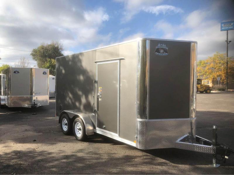 2022 R and M Manufacturing 7x14+v-nose (TAC) Enclosed Cargo Trailer