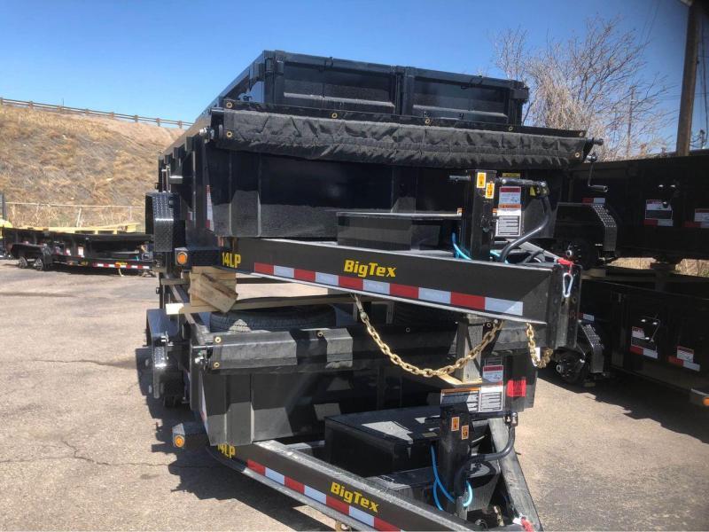 2021 Big Tex Trailers 14LP-14 Dump Trailer-WHEAT RIDGE