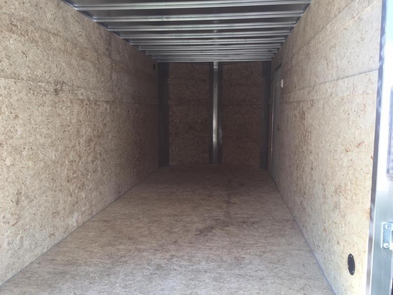 7x16 R&M Big Horn Pewter Cargo V Nose
