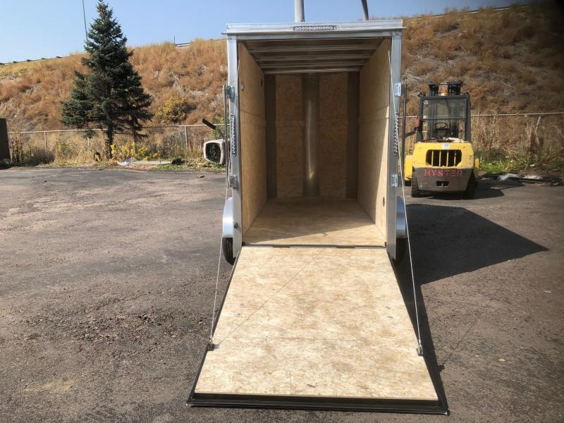 2021 R&M 5x10+v-nose Enclosed Cargo Trailer-Wheat Ridge