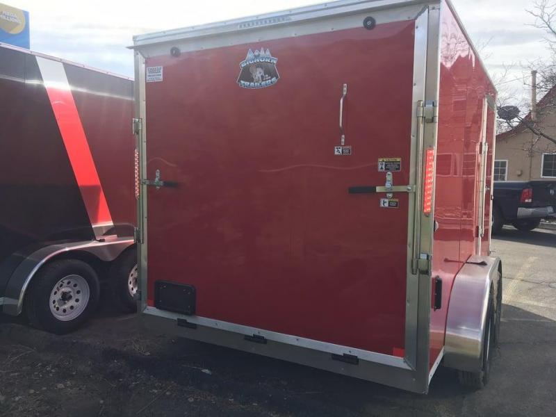 2021 R and M Manufacturing 7x12+v-nose (TAC) Enclosed Cargo Trailer