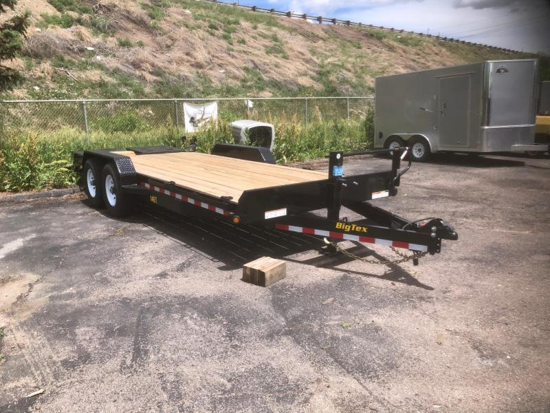2020 Big Tex Trailers 14ET-20' w/Mega Ramps Equipment Trailer-Wheat Ridge