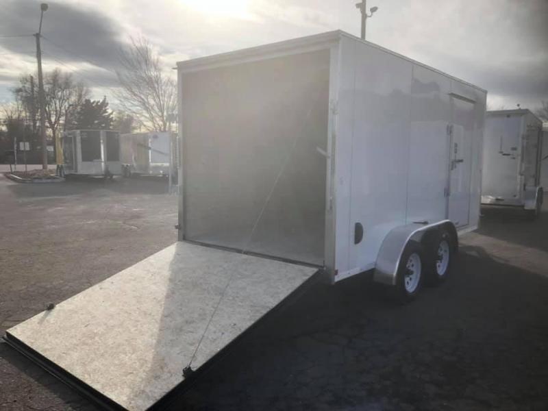 2021 R&M 7X14 V-NOSE (TAS) Enclosed Cargo Trailer-WHEAT RIDGE
