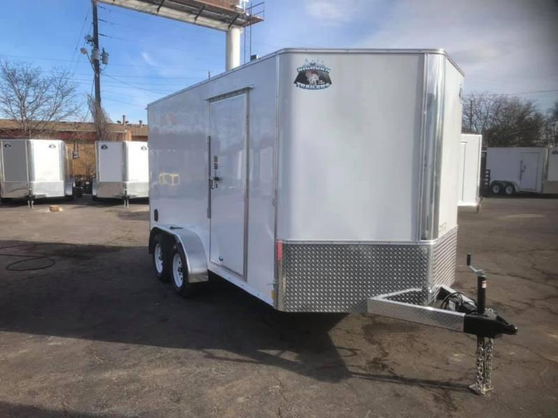 2021 R&M 7X14 V-NOSE (TAS) Enclosed Cargo Trailer-WHEAT RIDGE