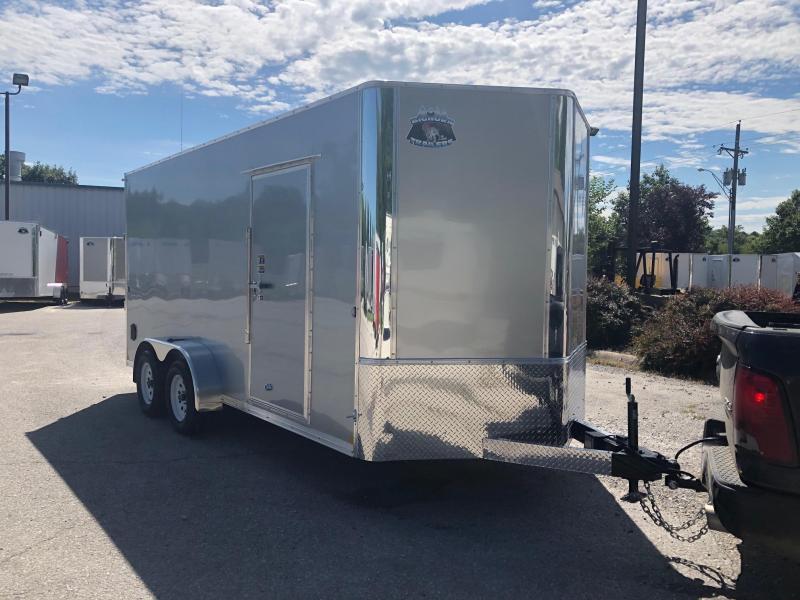 R and M Manufacturing EC 7 16 TA Enclosed Cargo Trailer