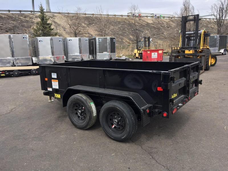 2021 Big Tex Trailers 70 SR (5x10) Dump Trailer