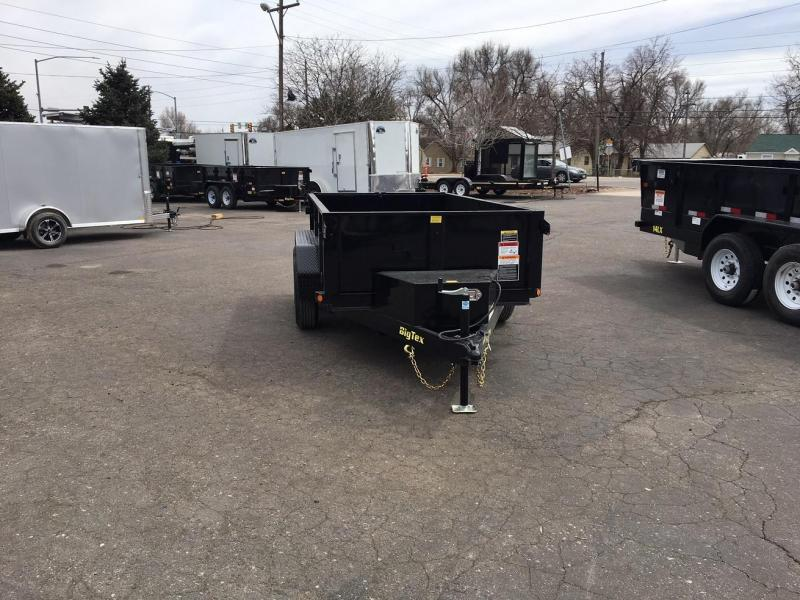 2021 Big Tex Trailers 70 SR (5x10) Dump Trailer