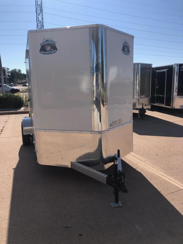 2021 R&M 6x12 v-nose (SAS) Enclosed Cargo Trailer-CO SPRINGS