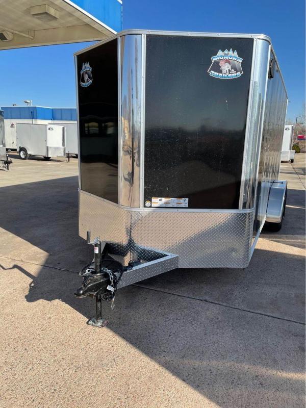 2022 R&M 7x16+v-nose (TAC) Enclosed Cargo Trailer-CO Springs