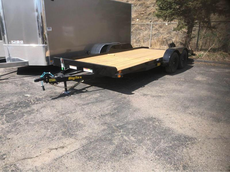 2021 Big Tex Trailers 70CH-20' w/dovetail Car / Racing Trailer-Wheat Ridge