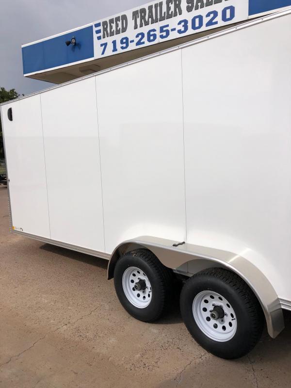 2021 R and M Manufacturing 7x20+v-nose (10k TAC) Enclosed Cargo Trailer
