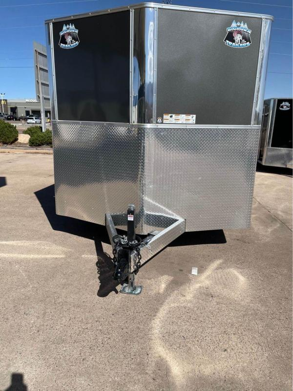 2022 R and M Manufacturing 8.5x16+v-nose (Upgrades) Enclosed Cargo Trailer-Wheat Ridge