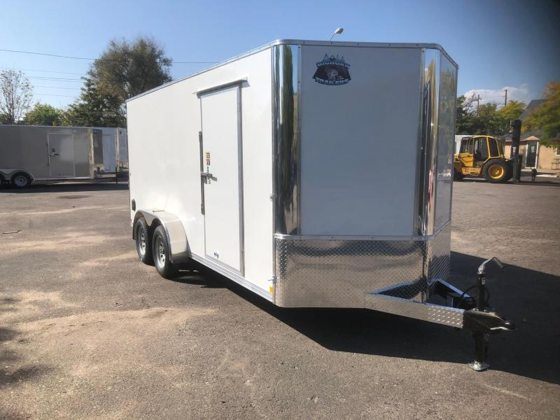 2021 R and M Manufacturing 7x16+v-nose (TAC) Enclosed Cargo Trailer