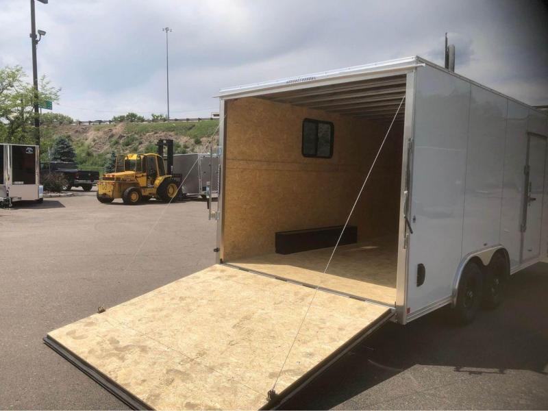 2022 R and M Manufacturing 8.5X16+V-NOSE 10K (TAC) Enclosed Cargo Trailer