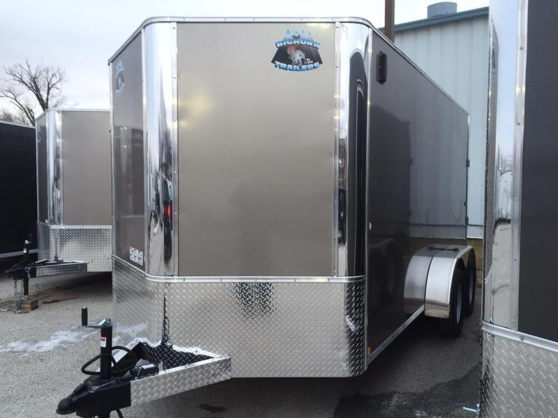 R&M 7x14 Contractor Enclosed Cargo Trailer