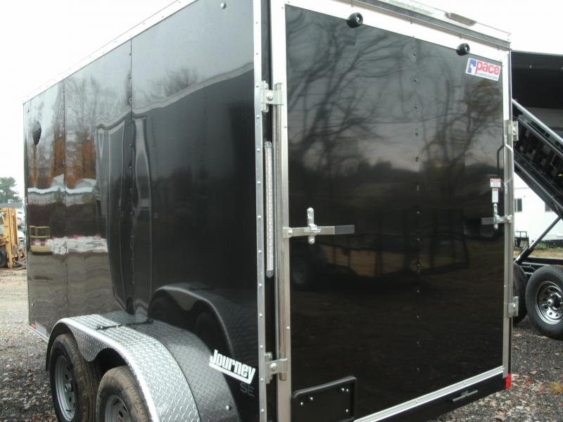 2021 Pace American Journey Cargo Se Flat  Cargo / Enclosed Trailer