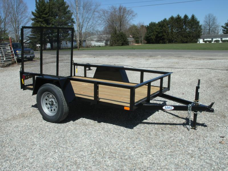 2021 American Manufacturing Operations (AMO) 5x8UT Utility Trailer