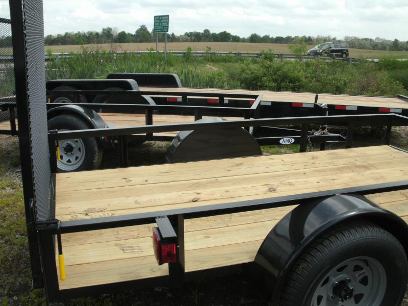 2021 American Manufacturing Operations (AMO) 5X10UT Utility Trailer