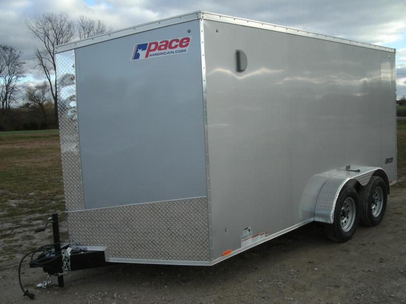 2021 Pace American PSC0A7.0X14TE2FE Enclosed Cargo Trailer