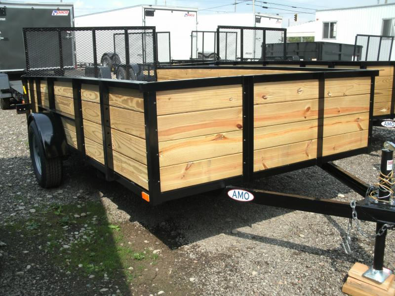 2021 American Manufacturing Operations (AMO) 6X10UT Utility Trailer