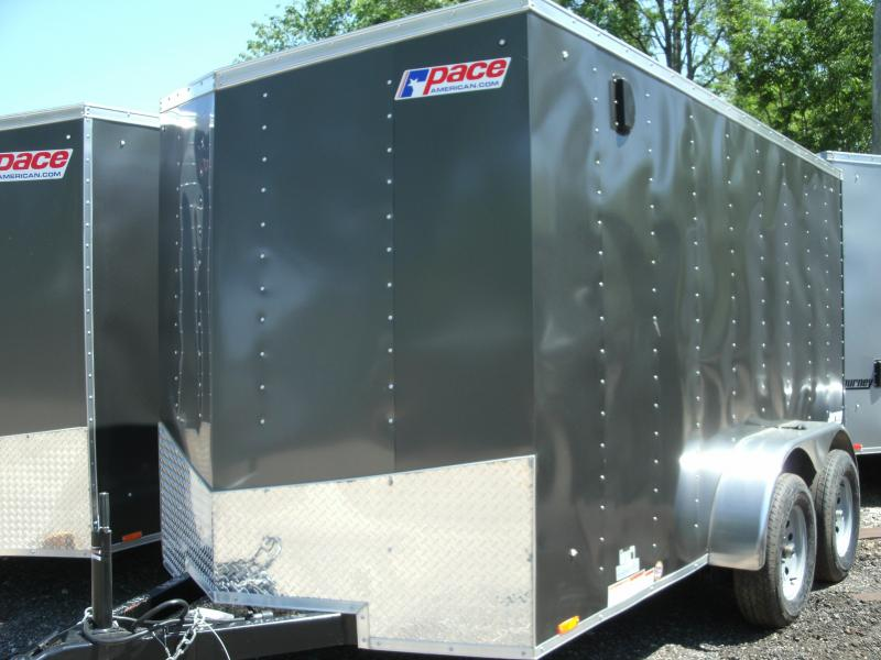 2021 Pace American Journey 6 Wide TANDEM Cargo / Enclosed Trailer