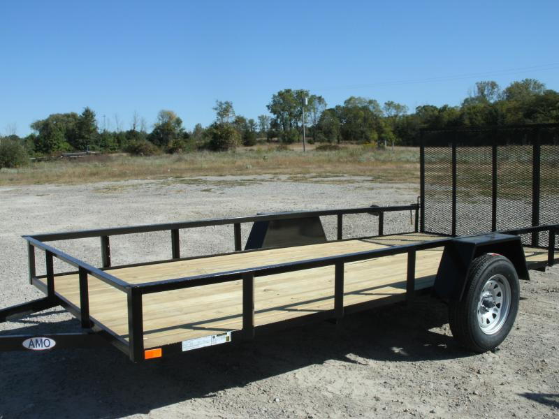 2021 American Manufacturing Operations (AMO) 6 x 14 UT Utility Trailer