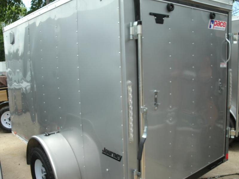 2021 Pace American Journey Cargo Flat  Cargo / Enclosed Trailer