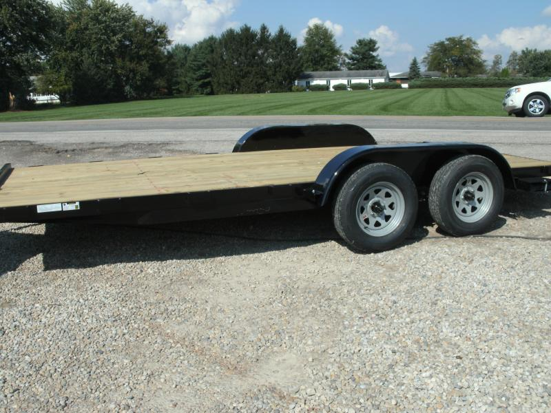 2020 American Manufacturing Operations (AMO) 18 FLATBED Flatbed Trailer