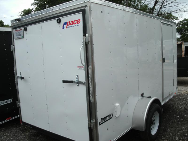 2021 Pace American JV6X12 Enclosed Cargo Trailer