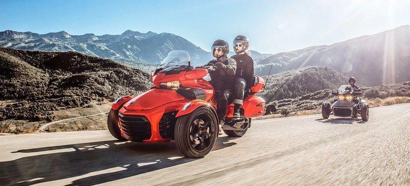 2019 Can Am Spyder F3 LTD Phoenix Orange Metallic/ Chrome Motorcycle