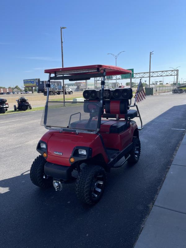 2001 Yamaha Golf Cars G16A Golf Cart