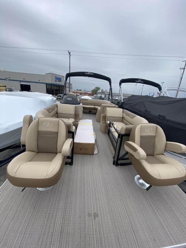 2021 Veranda Veranda VP25F2+2 Pontoon Boat