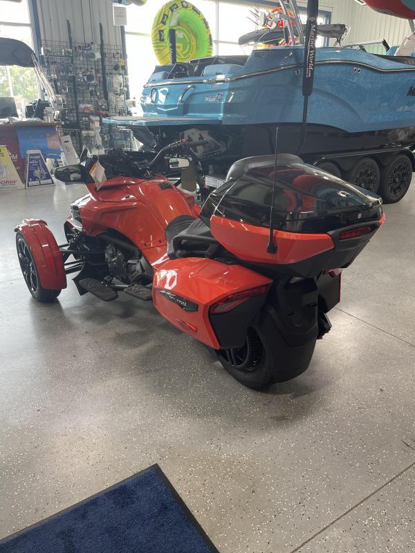 2021 Can Am Spyder F3 LTD Magma Red/ Dark Motorcycle