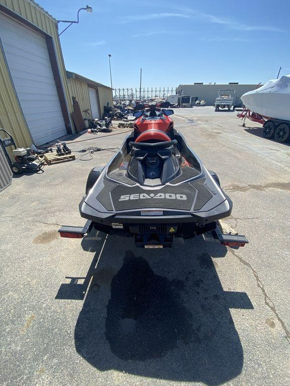 2020 Sea-Doo/BRP RXP-X 300 Eclipse Black and Lava Red