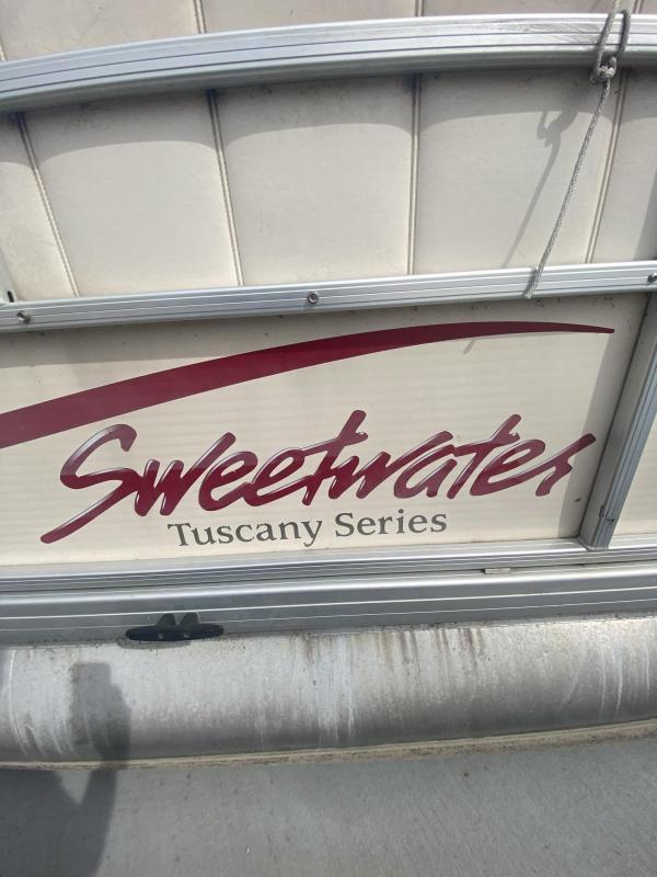 2008 Sweetwater Pontoon Boats Tuscany 2086 Pontoon Boat