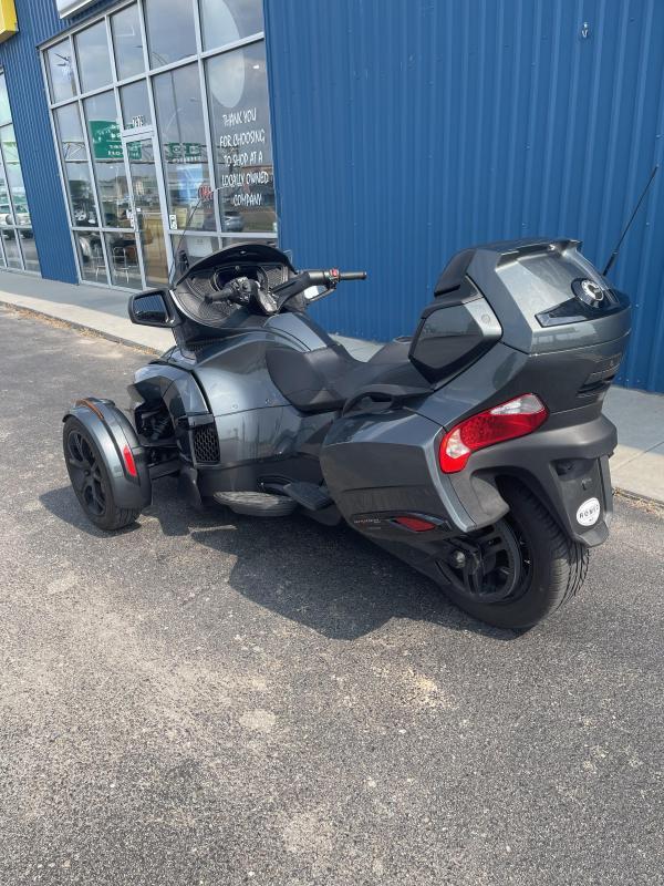2019 Can Am Spyder RT Limited Asphalt Grey/Dark