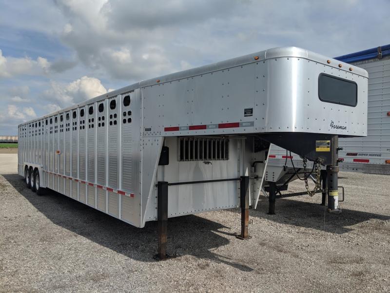 2017 Wilson Foreman Livestock Trailer Livestock Trailer