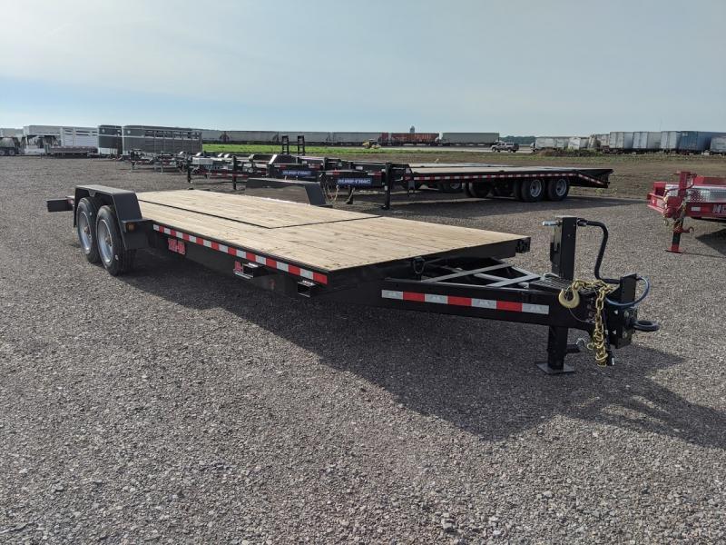 2020 B-b Trailers 7'x18' +6' Boring Tilt 20k Equipment Trailer