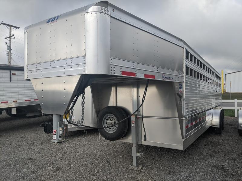 2020 Eby 24' Maverick Freedom Plus Livestock Trailer