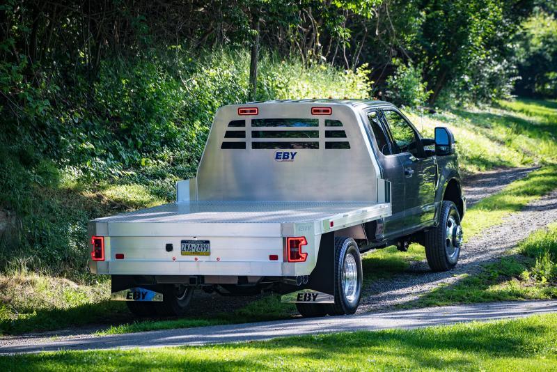"2019 Eby 8'6""x84"" Flat Bed Truck Body"